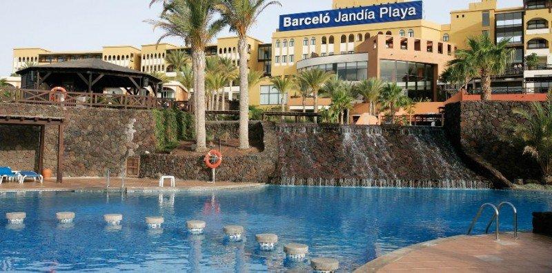 El hotel Barceló Jandía Playa, junto con el Jandía Mar, ambos en el sur de Fuerteventura, se verán afectados por la huelga de su personal en Viernes y Sábado Santo.