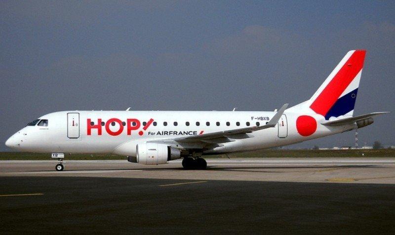 Despega HOP!, filial de Air France para el corto y medio radio