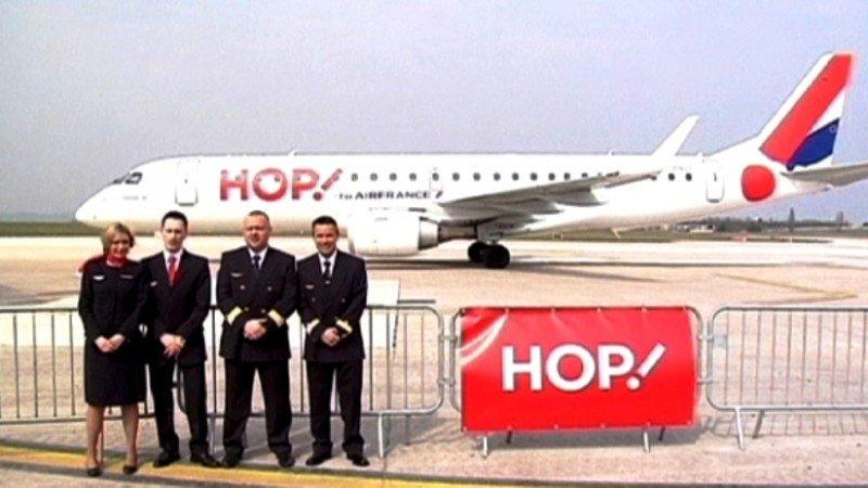 Air France presentó su nueva filial en el Aeropuerto de París Orly.