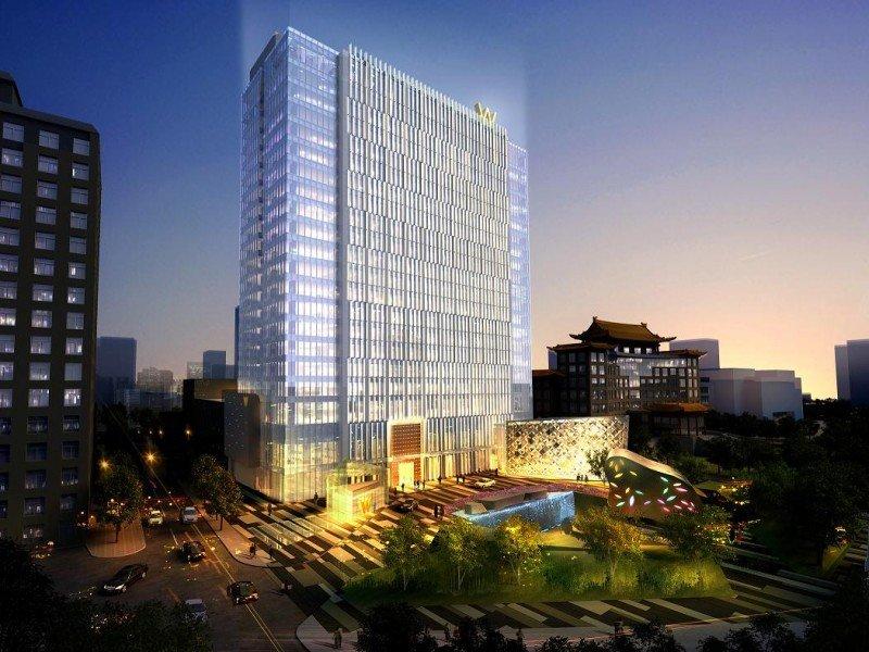 El hotel W Beijing abrirá sus puertas en 2014.