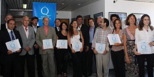 Operadores turísticos de Argentina reconocidos por adherir a las normas de calidad.