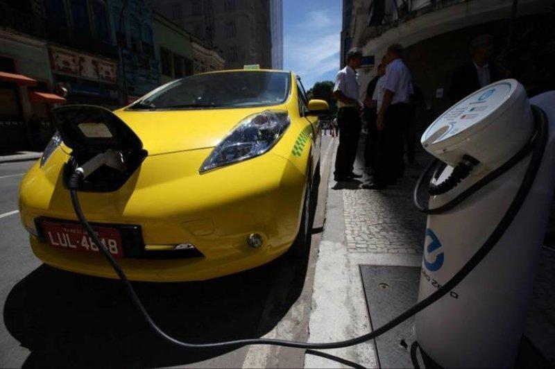 Río de Janeiro recibe sus primeros taxis eléctricos.