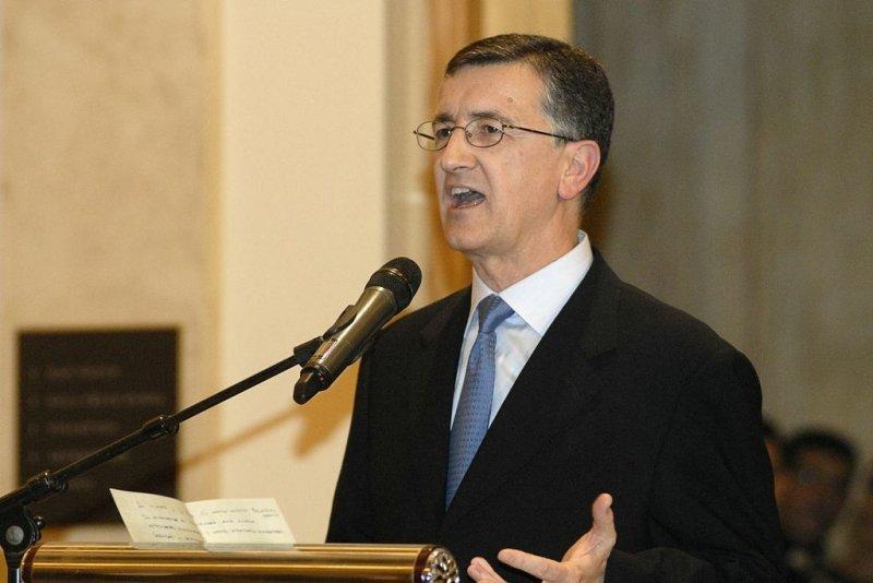 José Antonio Martínez Sampedro, presidente de Codere, en la apertura del nuevo Sofitel