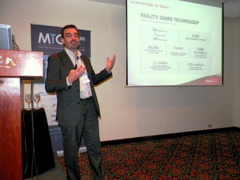 Alejandro Paramos, de Sabre Travel Networks