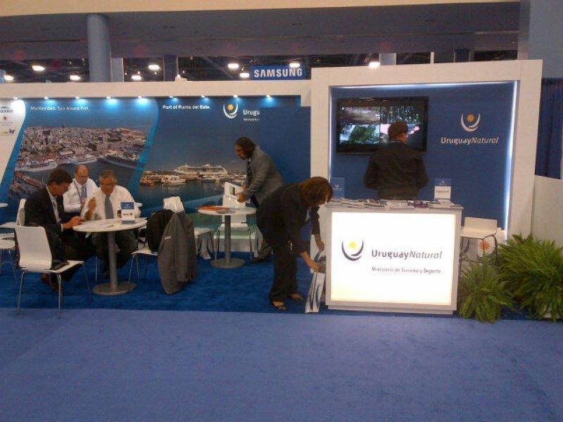 Stand de Uruguay en Seatrade Cruise Shipping Miami