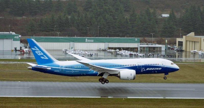 FAA aprueba plan de certificación de Boeing para las baterías del 787.