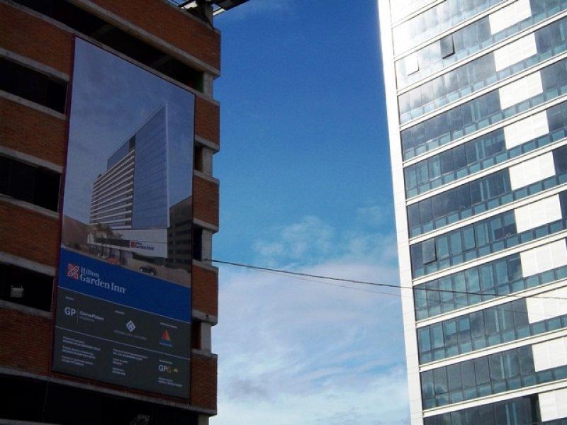 El Hilton Garden Inn estará conectado a Montevideo Shopping y a las torres del World Trade Center