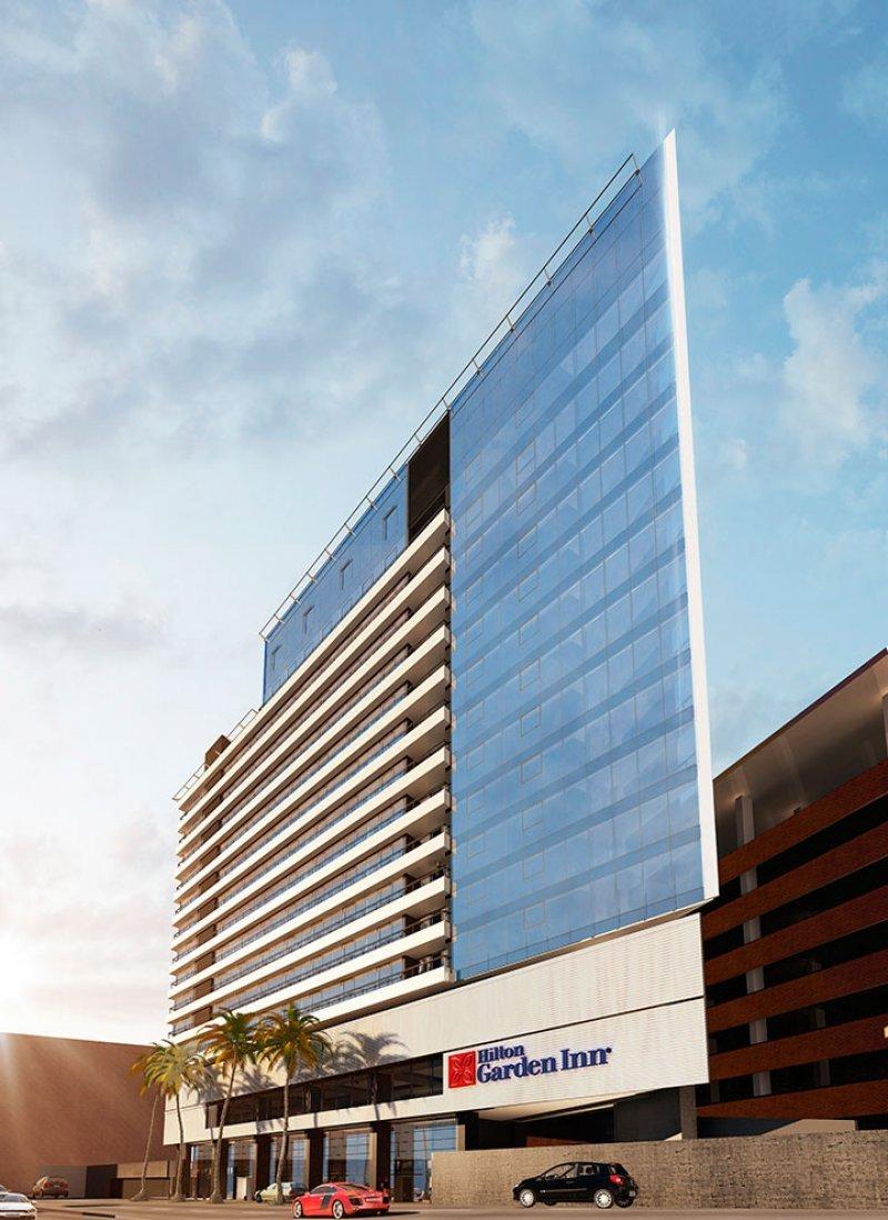 El hotel se integrará al estilo arquitectónico que ha adquirido la zona