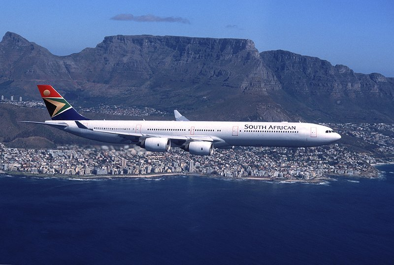 South African: casi 95% de vuelos en horario