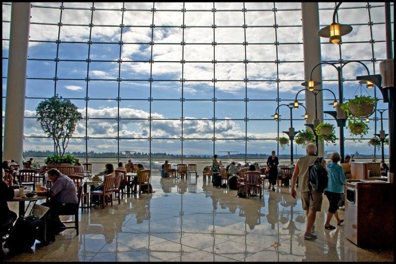 Aeropuerto de Seattle, estado de Washington (EE.UU.)