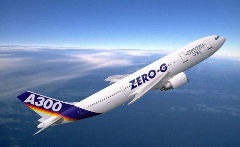 Culmina con éxito el primer vuelo de 'gravedad cero' para turistas en Europa.