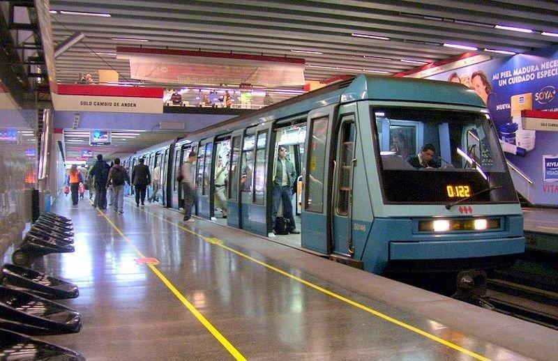 El Metro de Santiago de Chile es uno de los más avanzados de Latinoamérica