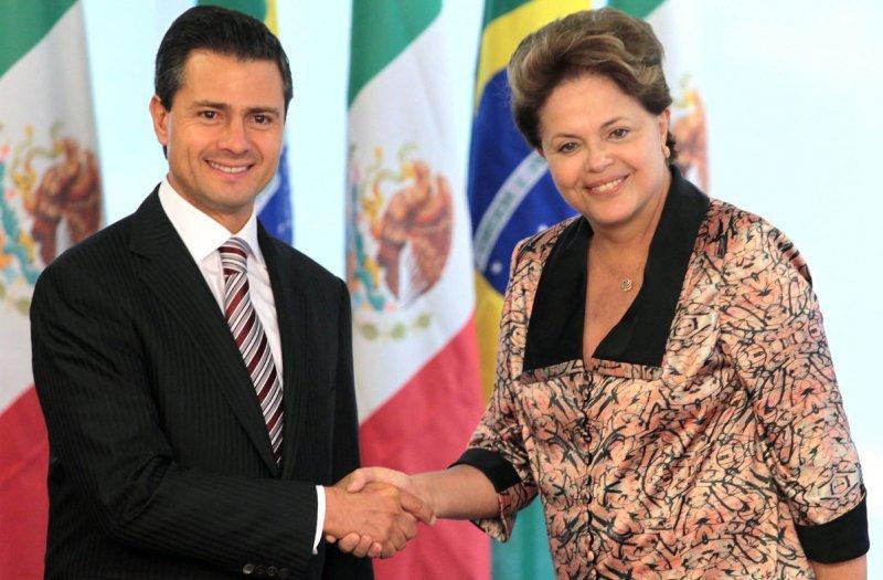 México y Brasil acuerdan supresión de visado de corta duración.