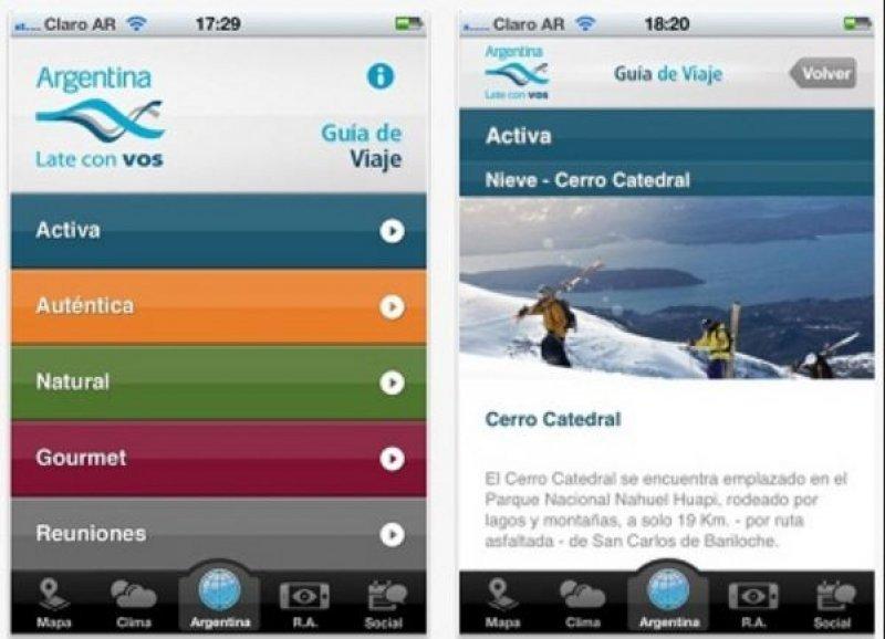 Renuevan aplicación para programar viajes desde smartphones en Argentina.