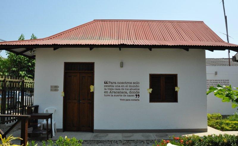 Casa Museo Gabriel García Márquez, en Aracataca.
