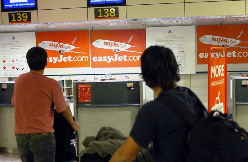 easyJet tendrá solo check-in online