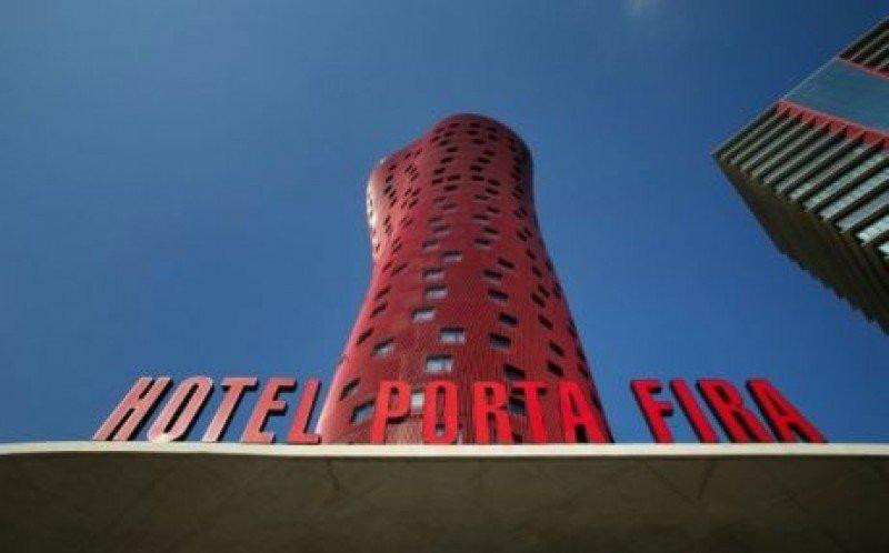 El Hotel Porta Fira, donde se celebrará la Nit del Turisme 2013.