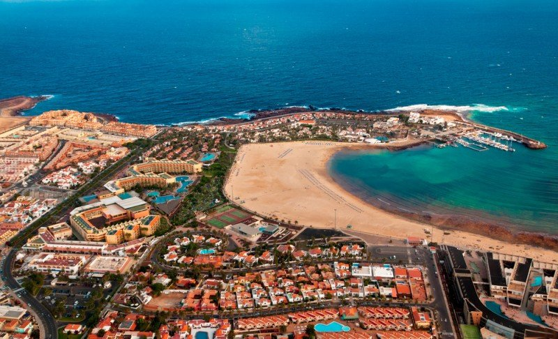 Fuerteventura (en la imagen) ha alcanzado un 100% de ocupación en los días festivos de la Semana Santa. #shu#