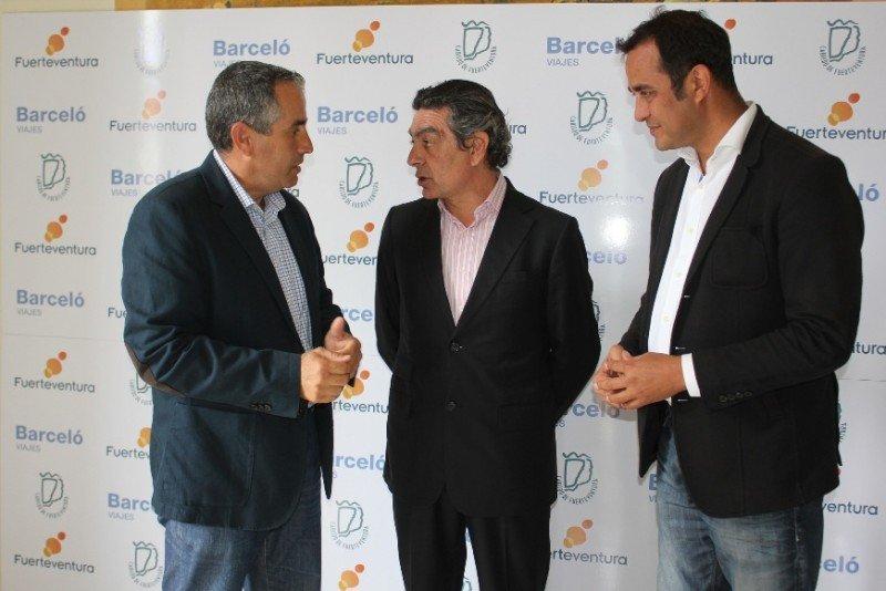 El Cabildo de Fuerteventura firma un acuerdo con Barceló.