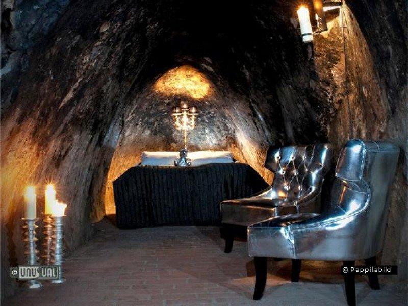 A 155 metros de profundidad se encuentra esta habitación del hotel Sala Silvermine, una antigua mina cerca de Estocolmo.