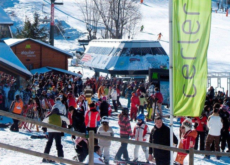 Imagen de la estación de esquí de Cerler, en el Pirineo aragonés.