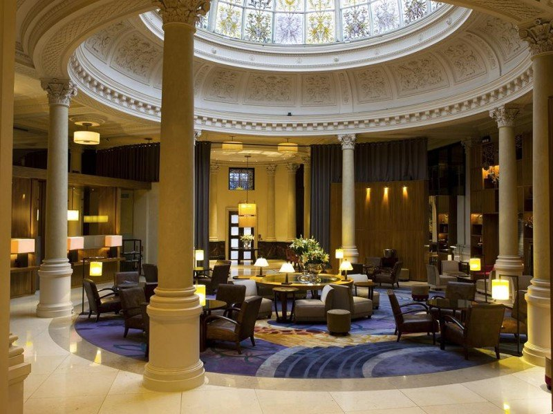 Lobby del hotel Threadneedles en Londres, nuevo Autograph Collection.