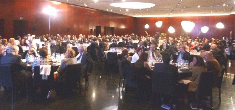 La gala se celebró en el hotel Porta Fira de Barcelona.