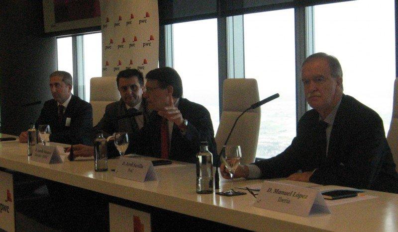 García Tenorio, Aurelio Vázquez, Jordi Sevilla y López Colmenarejo.