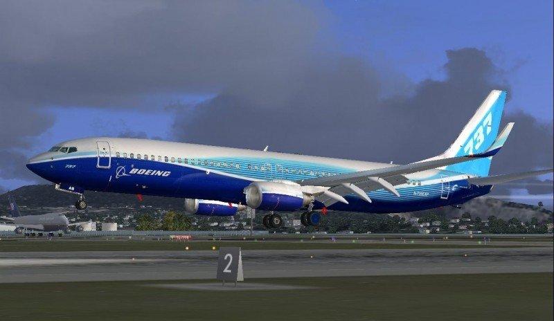 Boeing 737-900ER (imagen digital), uno de los modelos afectados por la directiva.