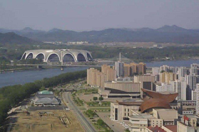 Pionyang, capital de Corea del Norte.