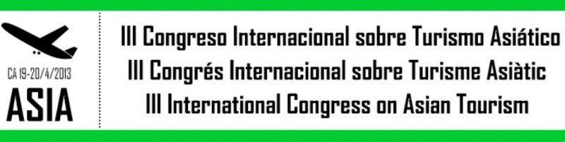 Tercer Congreso Internacional sobre Turismo Asiático.