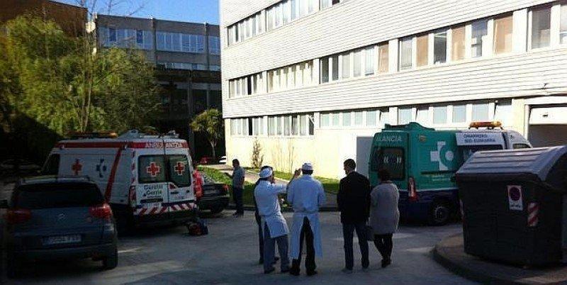 Accidente en una Escuela de Hostelería de la provincia de Vizcaya. Foto diariovasco.com/ Luis Calabor.