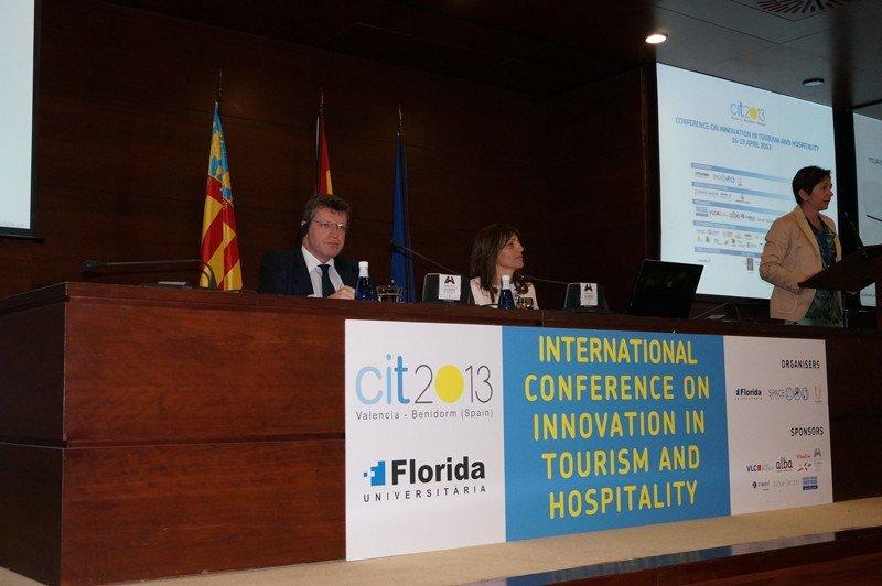 Jan-Eric Frydman durante su intervención en CIT 2013, Conferencia Internacional de Innovación y Turismo, Valencia.