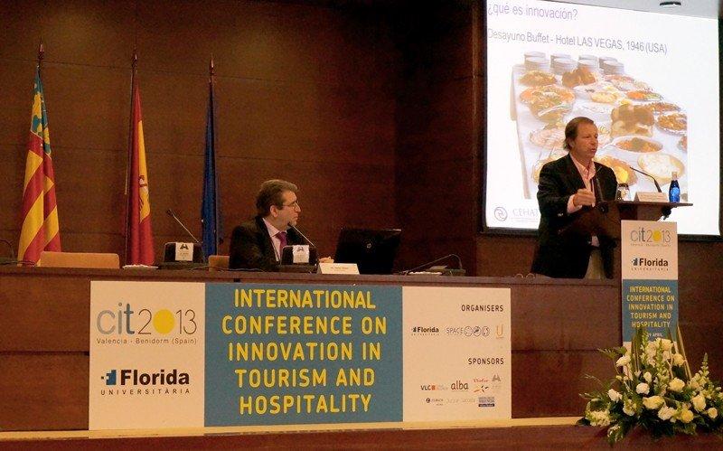 Ramón Estalella. CIT 2013: Conferencia Internacional de Turismo. Valencia.