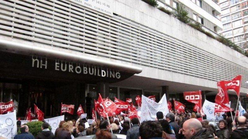 CCOO pedirá la nulidad de los despidos en NH por 'ir contra la igualdad'