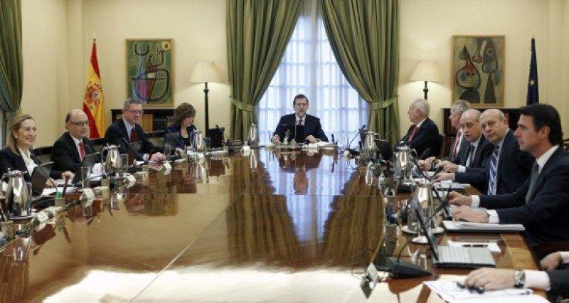 El Consejo de Ministros de España.