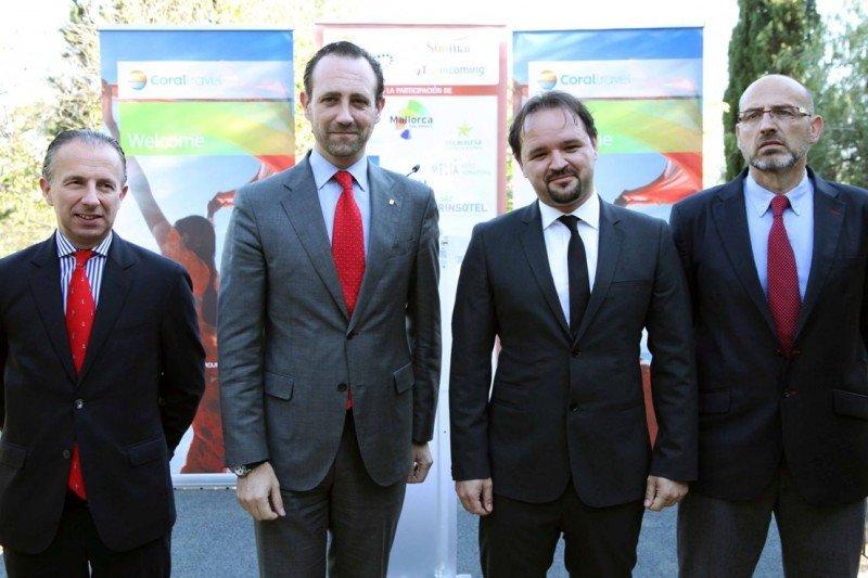 Carlos Delgado, José Ramón Bauzá, Yurtsever Göycek y Juan Sánchez.