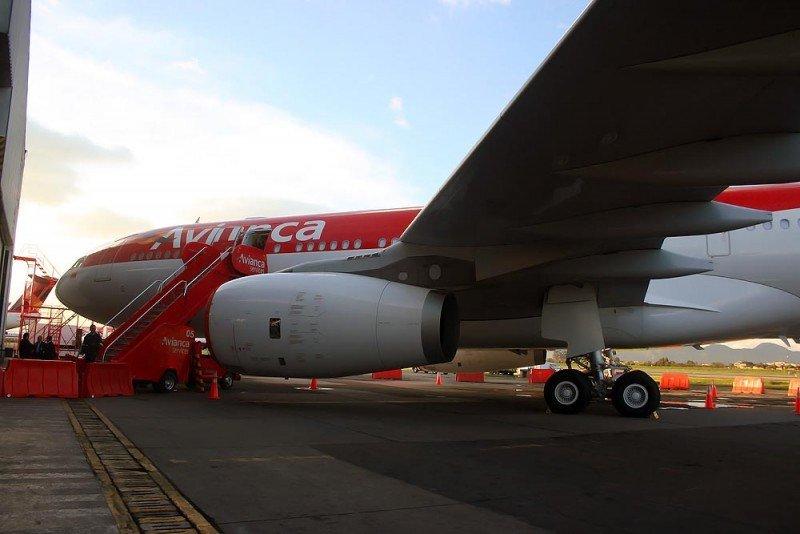Avianca opera todos sus vuelos entre España y Colombia con Airbus A330.