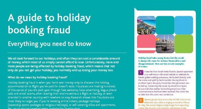 ABTA lanza una campaña anti fraude