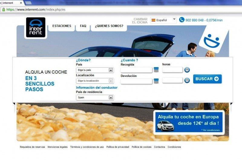Europcar lanza InterRent, su nueva marca low cost