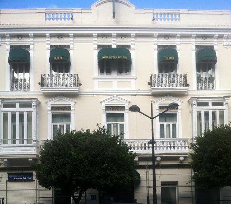 Hotel Itaca Cónsul del Mar, de 4 estrellas y con 62 habitaciones.