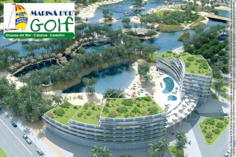 Infografía del proyecto de Marina d´Or Golf.