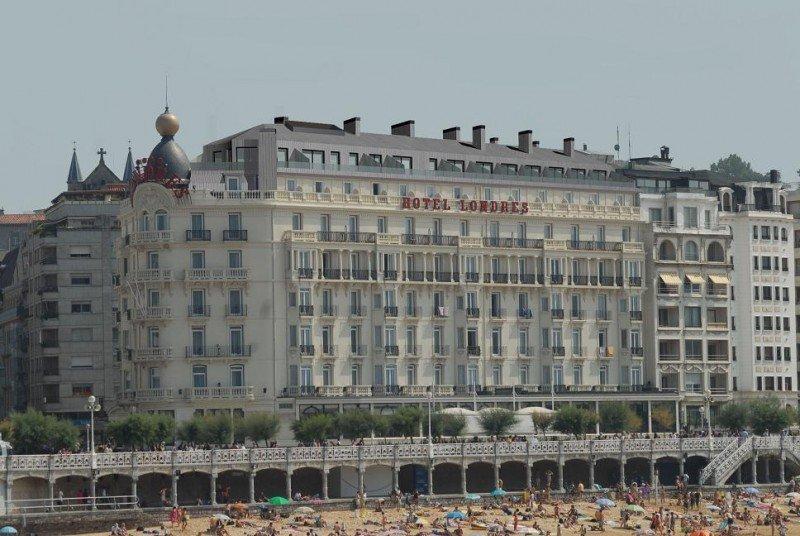 Nueva séptima planta con 12 habitaciones en el hotel de Londres y de Inglaterra de San Sebastián.