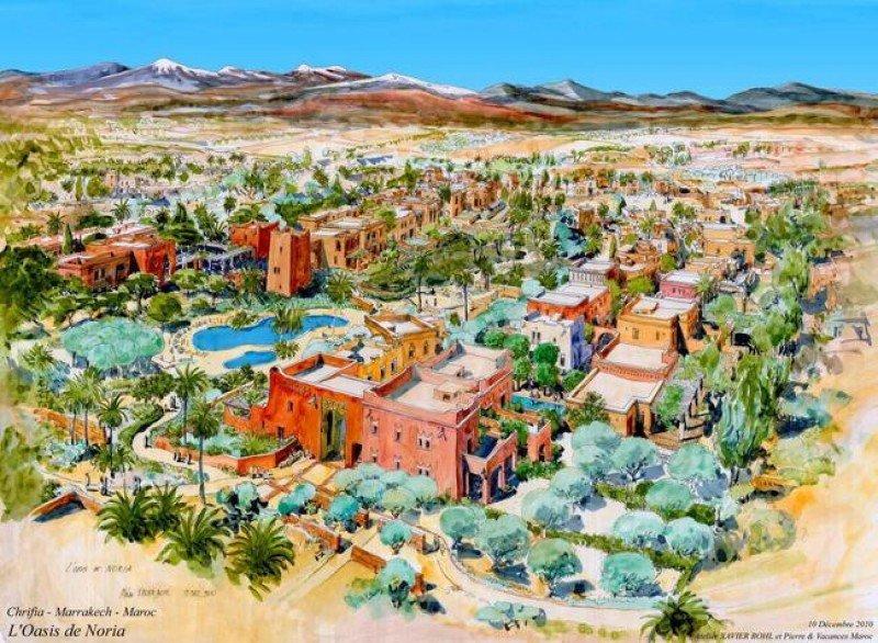 El primero que ha comenzado a construirse es el futuro Noria Oasis, cuya apertura está prevista para 2015.