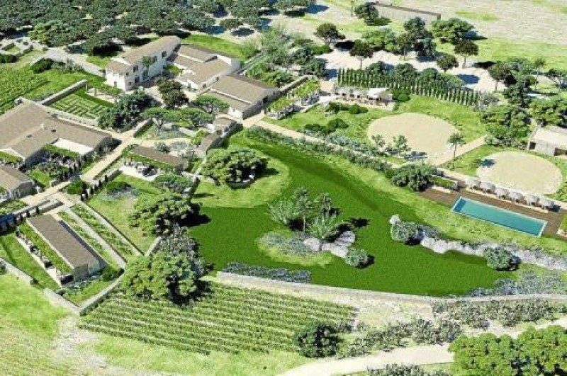 Torralbenc, en Menorca, ocupa las antiguas instalaciones de una granja.