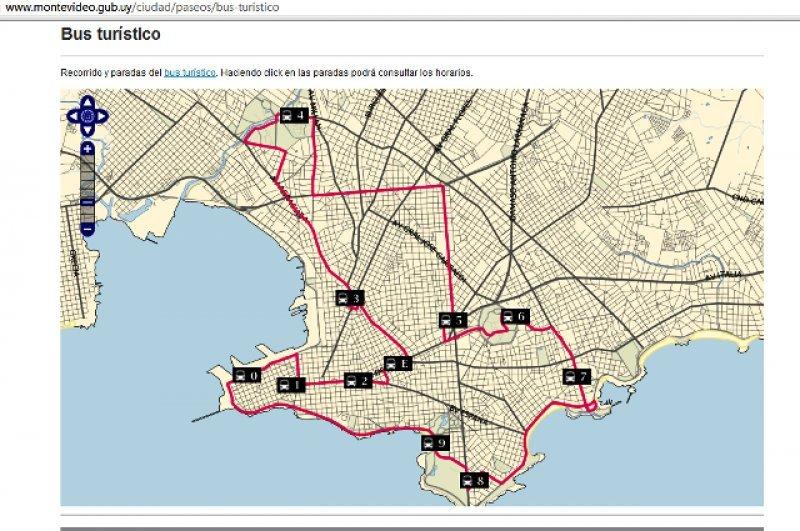 La aplicación está disponible en la web de la Intendencia de Montevideo