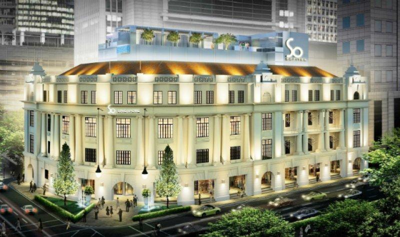 El Sofitel So Singapur funcionará en un edificio patrimonial