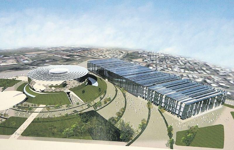 Proyecto del centro de convenciones descartado en 2012