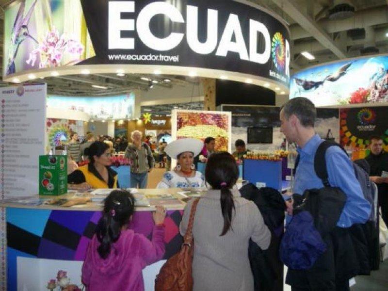 En 2012 Ecuador participó en más de 50 ferias y eventos turísticos internacionales