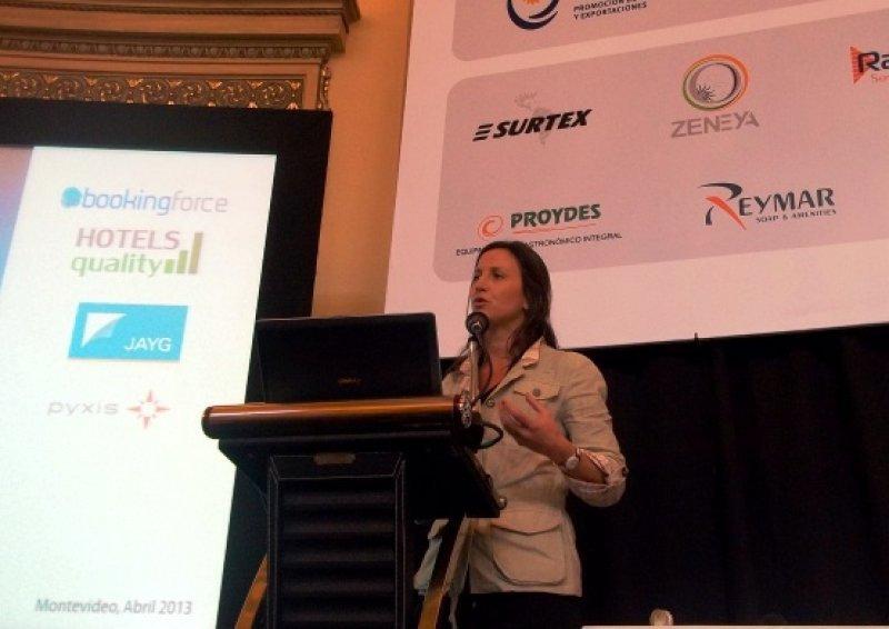 Magdalena Narbondo, del Cluster Empresarial de Tecnologías para Turismo